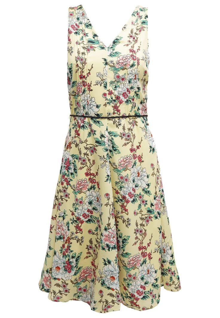 Zomerjurken Vero Moda VMCHERRY - Korte jurk - french vanilla Lichtgeel: € 31,95 Bij Zalando (op 4-8-16). Gratis bezorging &…