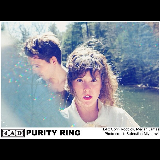 Purity Ring @4ad- #webstagram