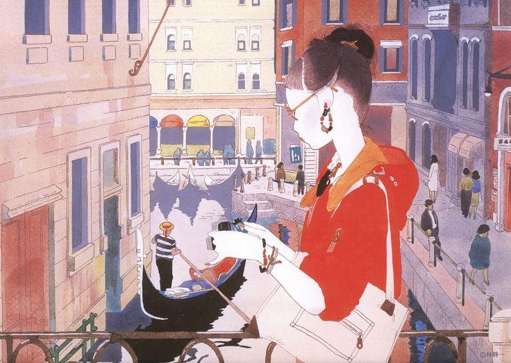 From 'Modern Beauty 2008 Calendar' by Seiichi Hayashi / 林静一