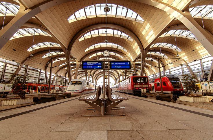 Kiel Central Station by Jens Krüßmann on 500px