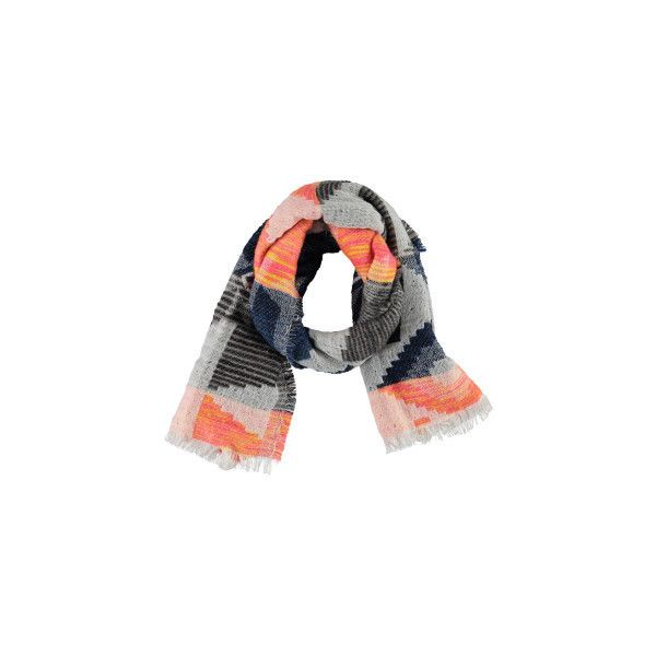 Re: Re Aztec Acrylic Blank (115 PEN) ❤ liked on Polyvore featuring accessories, scarves, 5759-10396, multi, blanket scarf, acrylic scarves, aztec scarves and chunky scarves