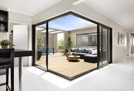 Opening up indoor outdoor spaces corner sliding stacker door - Google Search
