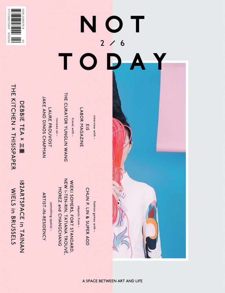 NOT TODAY, issue 2