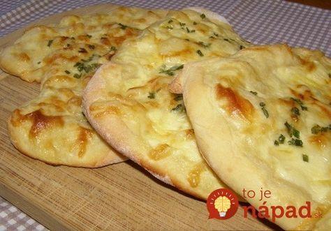 Namiesto chlebíka: Mäkučké jogurtové placky so syrom, pečené v rúre!