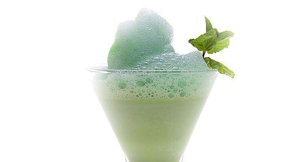 Molecular Cocktail - The Grasshopper