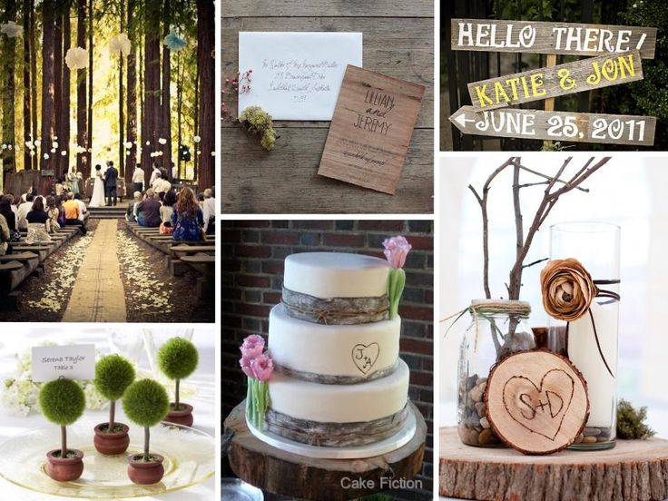 Lovely Nature Theme Wedding Ideas