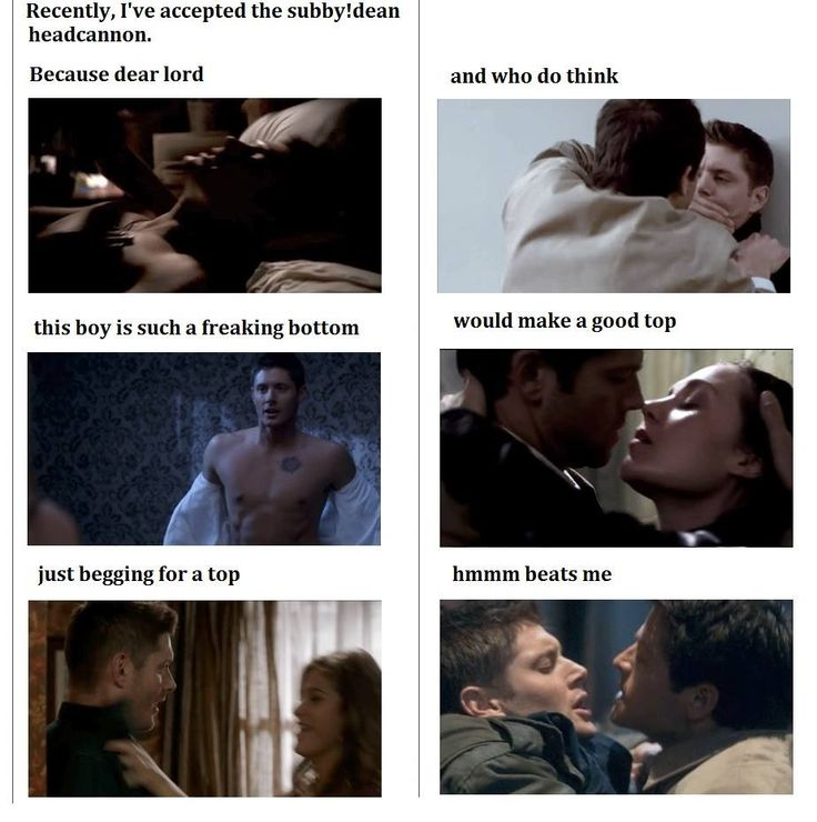 I hadn't even really thought about it before but...now that I have, excuse me as I hunt for a top!Cas fic ohonhonhon