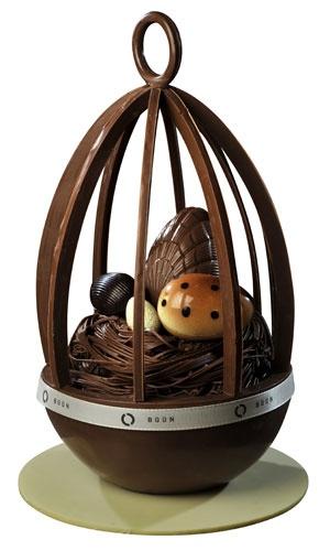 Amazing chocolate egg