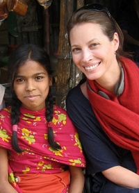 Christy Turlington | Founder of Every Mother Counts, an advocacy organization for improving maternal health.