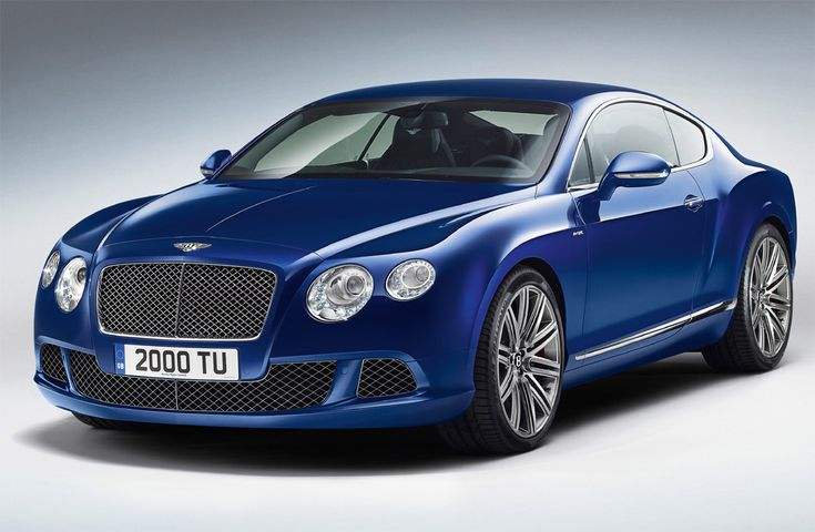 Motor Proyect: Bentley Continental GT Speed. El otro capricho de ...