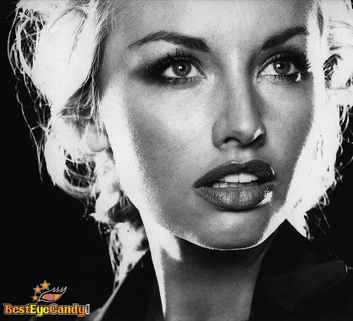Charming seductress Adriana Sklenarikova ...  A la mode Hairstyles...   In 1998, she was hired as one of the models for the Wonderbra campaign