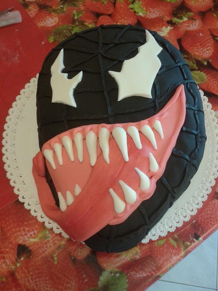 torta venom spiderman