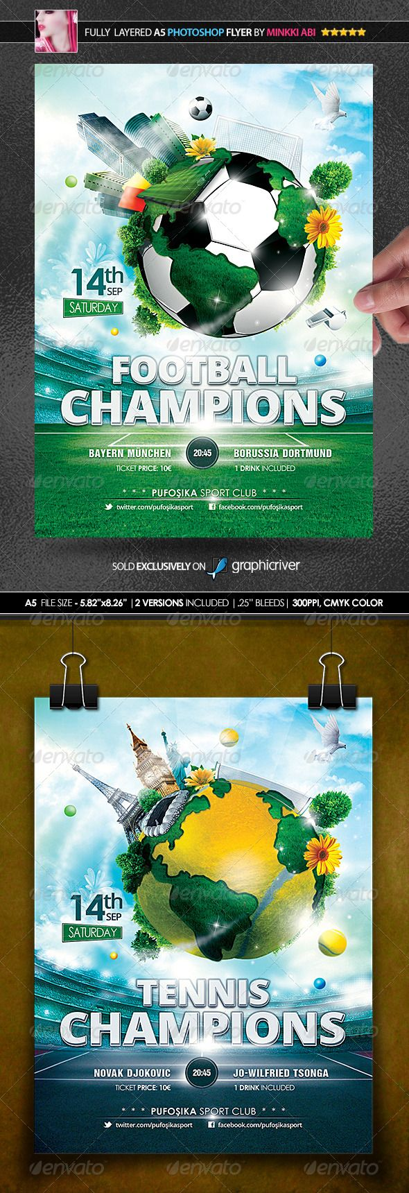 Sports World Vs.1 Poster/Flyer