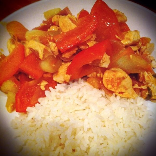 Fanta Sweet and Sour Chicken