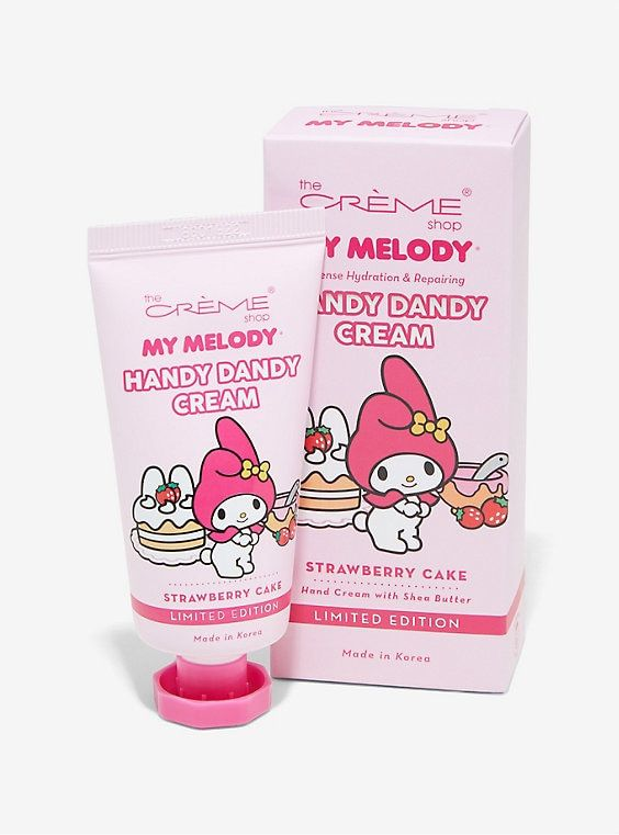 702708491 The Creme Shop My Melody Strawberry Cake Handy Dandy Hand Cream ...