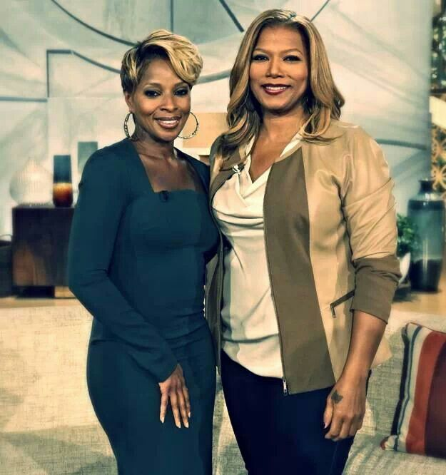 Mary J. Blige stopped by the Queen Latifah Show.