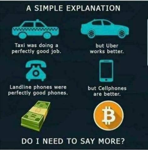 The world is constantly changing and evolving, being an early adopter can have huge upsides and benefits! Bitcoin and blockchain technology is going to revolutionize every industry starting with finance/banking.  Exciting times ahead #finance #bitcoin #cryptocurrency #litecoin #dash #income #altcoin🙏🙌 🙏🙌