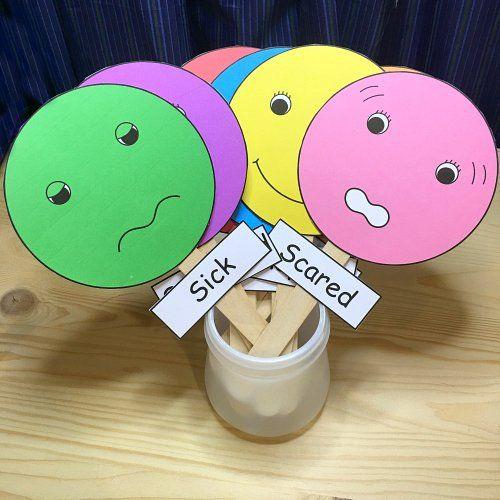 feelings for preschool and kindergarten