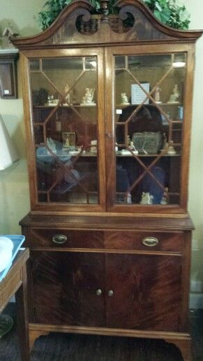 small china cabinet from savvy settings