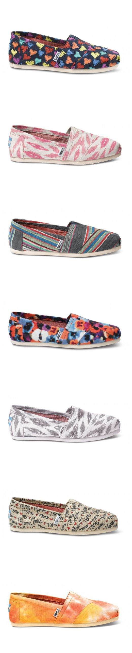 Dream closet!Toms Outlet! $19.99 OMG!! Holy cow, I'm gonna love this site #Toms shoes #shoes #fashion