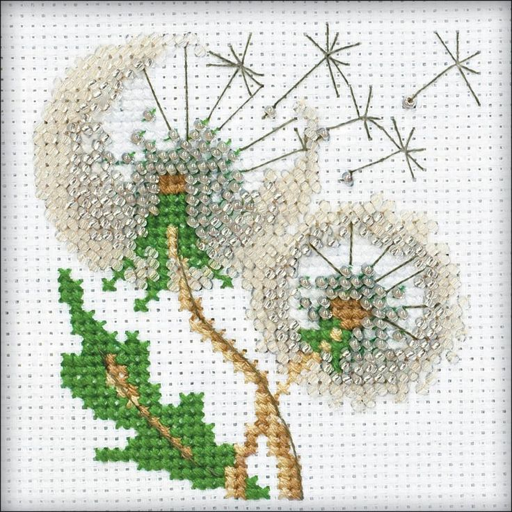 Dandelion Seeds Counted Cross Stitch Kit