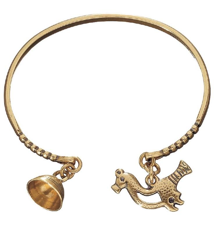 Ancient Scandinavian style bracelet by Kalevala koru, Finland