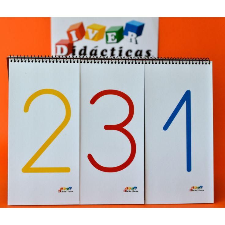 Cuaderno con el que practicar la lectura y escritura (entendida como composición del número, notrazado del mismo)de números hasta 3 cifras. Gracias a su diseño entenderán con mayor facilidad el valor posicional de las cifras.