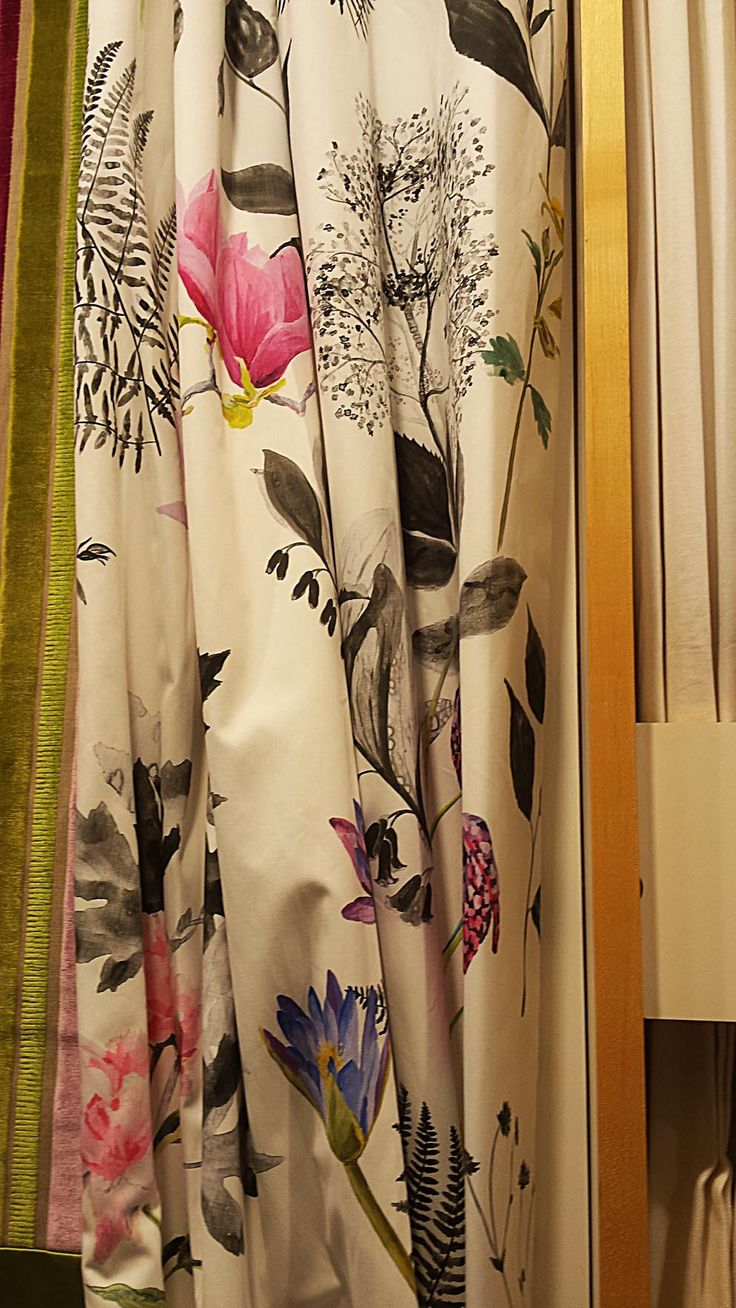 Beautifully painted and drawn florals by John Lewis