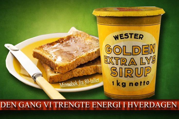 Sirup på brødskiva var vanlig den gang vi trengte energi i hverdagen.
