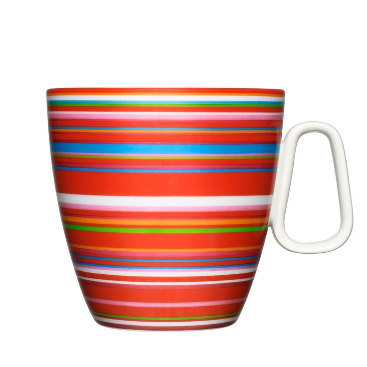 You've found your new go-to morning mug in the iittala Origo Red Mug. | $26.00