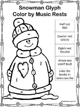CHRISTMAS HOLIDAY MUSIC SYMBOL GLYPHS This set contains 25 Music Coloring Glyphs