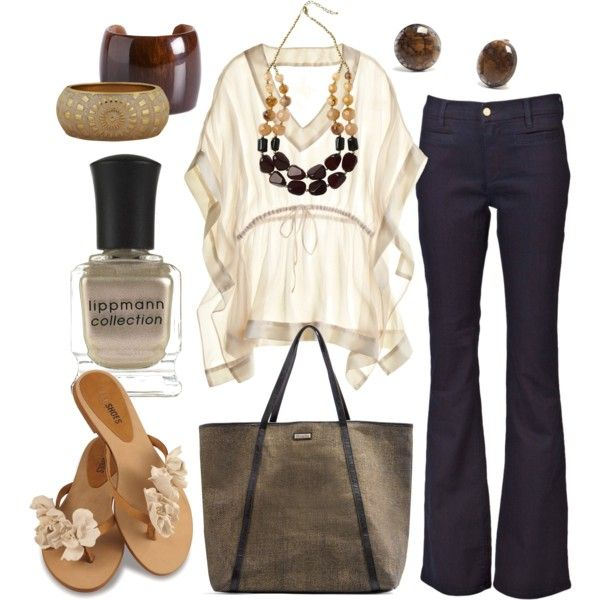 cookies & cream, created by htotheb on Polyvore: Pintrest Closet, Blouses, Cute Outfits, Fall Wins Closet, Cookies Cream, S S Outfits, Outfits Ideas, Polyvore, Clothing Fashion