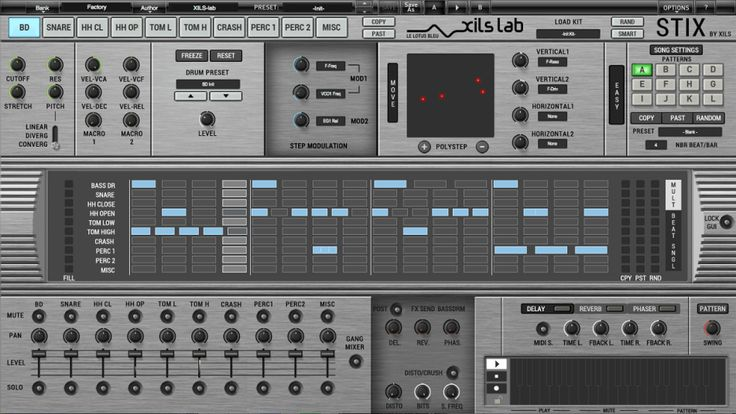 after almost a year of diligent development, music software specialist XILS-lab is proud to announce availability of V1.0 of StiX by Xils — a virtual analogue and multi-synthesis-driven drum machi…