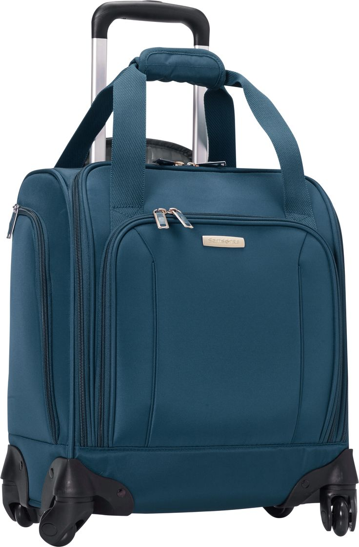 An eBags Exclusive: Samsonite Spinner Underseater with USB Port! Shop all underseater bags now!
