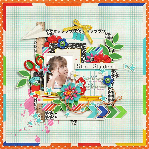 123s and ABCs - Collection by Jady Day Studio http://www.sweetshoppedesigns.com/sweetshoppe/product.php?productid=28810&cat=695&page=1  Garden View Template by Little Green Frog Designs http://scraporchard.com/market/Garden-View-Digital-Scrapbook-Template.html