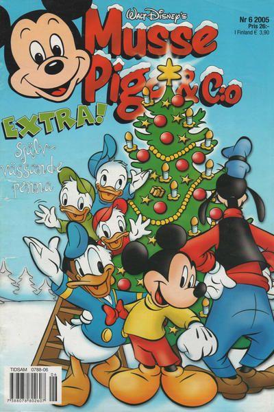 Cover for Musse Pigg & C:o (Egmont, 1997 series) #6/2005
