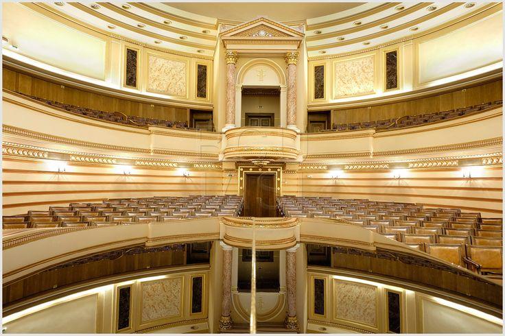 """Aula Bibliotecii Centrale Universitare """"Mihai Eminescu"""" Iaşi Foto credit: Cătălin Lăzărescu"""