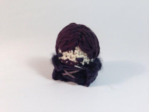 Game of Thrones Jon Snow Stark Crocheted Amigurumi by LouiesLoops