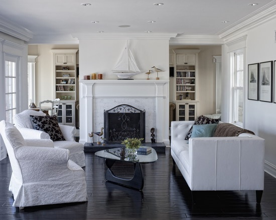 44 best images about cape cod homes interiors on for Cape cod living room design