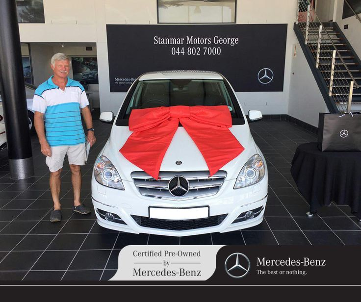 Congratulations to Mr. van Zyl on purchasing his #MercedesBenz B200. We thank you and wish you many happy miles ahead from #TeamCPO, sold by Ryno - 044 802 7000.