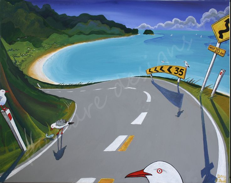 Approach to Seagull Bay - SOLD
