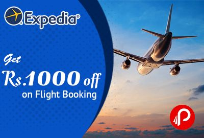 Expedia offers Rs. 1000 off on Flight Bookings, Only First 100 Customers can avail this offer hurry. Coupon: CLFIN64EDZ10T00HFH . T&C's: only for first 100 customers only.  #paisebachao #Expedia #FlightBooking http://www.paisebachaoindia.com/get-rs-1000-off-on-flight-booking-expedia/