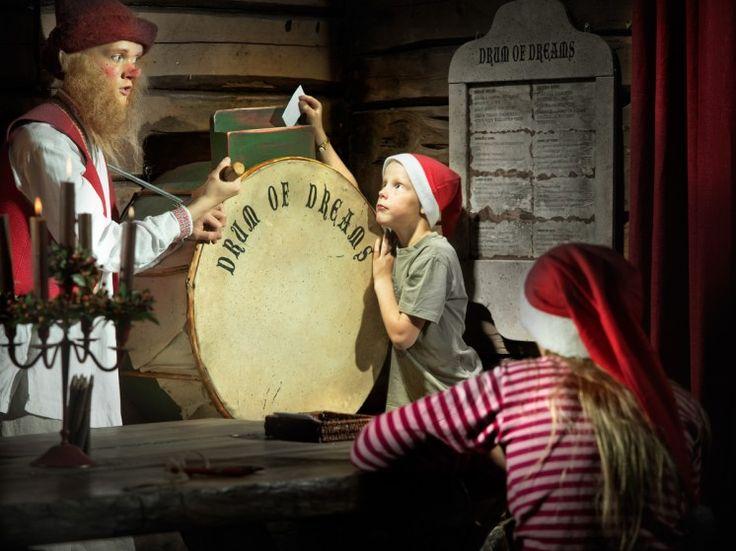 nos correios do Pai Natal