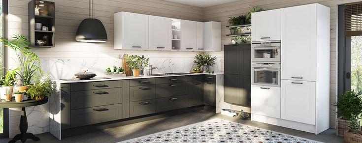 Tijdloze keuken NORMA - IXINA Keukens