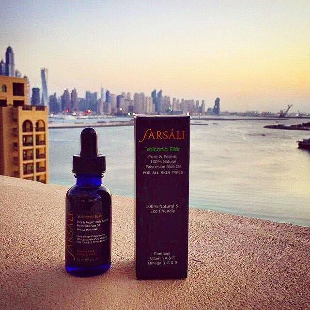 Our first bottle in Dubai has arrived at the beautiful Palm Jumeirah     ✨✨✨✨✨✨  BLACK FRIDAY SALE - 15% Off a Single Bottle of Volcanic Elixir  ✨✨✨✨✨✨   Use promo code: FSBFPIN14 during checkout, and receive 15% OFF a single bottle of the Volcanic Elixir. Offer expires November 30th, 2014 at 11:59pm PST. Hurry while supplies last!   Visit www.farsali.com