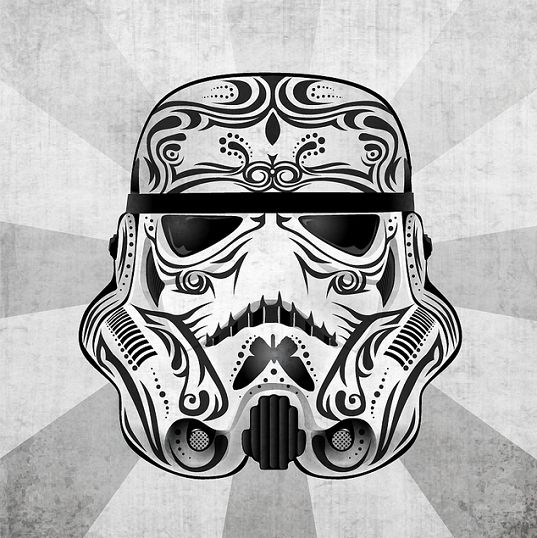 Day of the Dead Clone Trooper