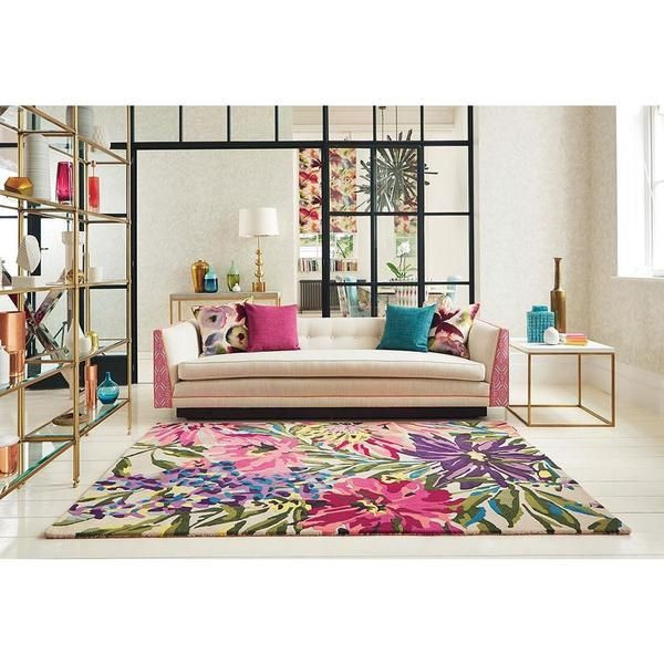 💕💕 Love this beautiful floral designer wool rug by Harlequin: Harlequin Floreale Fuschsia 44905 Designer Modern Floral Wool Rug Available now in the following sizes: 200 x 140cm: $1519.99⠀  240 x 170cm: $2279.99 280 x 200cm: $3039.99 Have a great week ahead everyone! xo