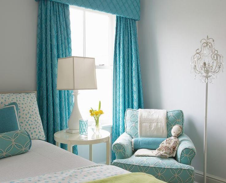17 Best Ideas About Turquoise Girls Bedrooms On Pinterest