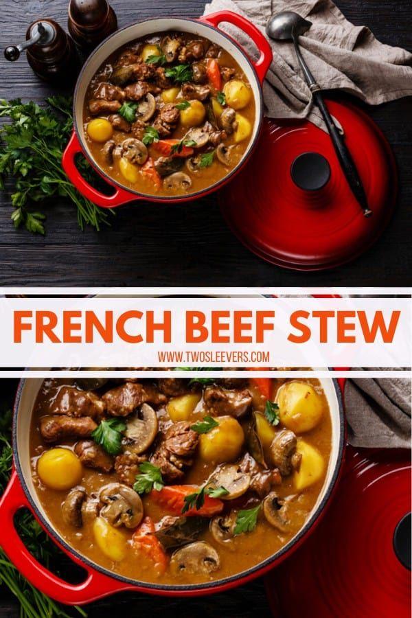 Beef Daube Instant Pot Beef Daube Pressure Cooker Beef Daube French Beef Stew Daube Recipes Slow Cooker Beef Daube French Beef Stew Beef Stew Beef