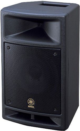 Yamaha MSR250 40-watt 15 inch Active Powered Speaker by Yamaha. $479.99. The MSR250 Yamaha speaker delivers the ideal blend of power, performance, features, and portability for an exceptionally wide range of applications. A redesigned class D amplifier delivers 250 watts of clean, dynamic power via a high-performance 10-inch cone woofer and 1-inch titanium-dome compression driver that match up perfectly for smooth, uncolored response from 55 Hz to 20 kHz. The woofer h...